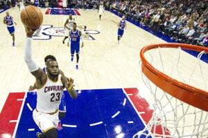 LeBron James zaznamenal triple-double.