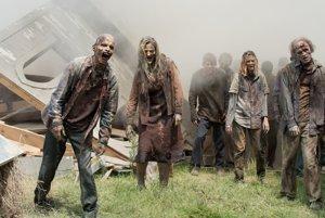 Zombie apokalypsa je častou témou v popkultúre, medzi najznámejšie seriály patrí Živí nŕtvi (Walking Dead).