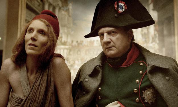 Napoleon a vyžitá  Marianne.