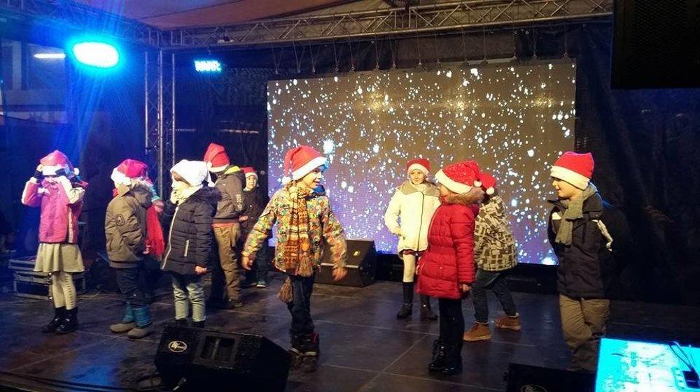 O kultúrny program sa postarali aj deti zo ZŠ Hroncova