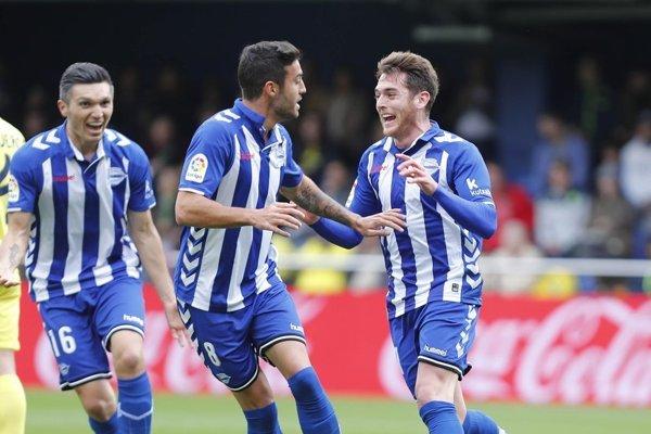 Futbalisti Deportiva Alavés - ilustračná fotografia.