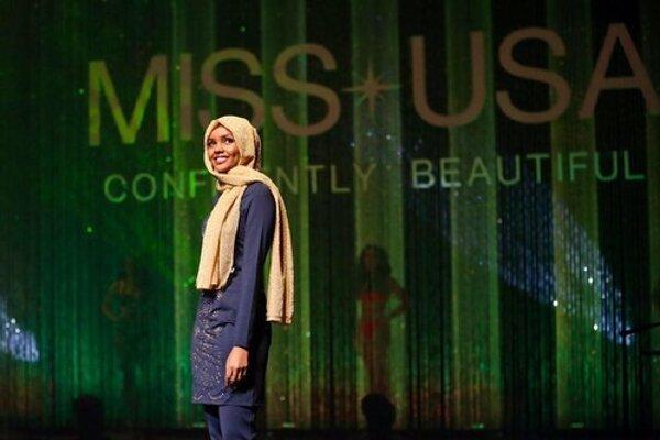 Halima Adenová počas súťaže.