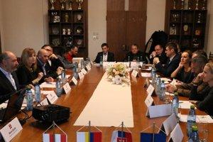 Rokovanie na radnici so zástupcami JASPERS.