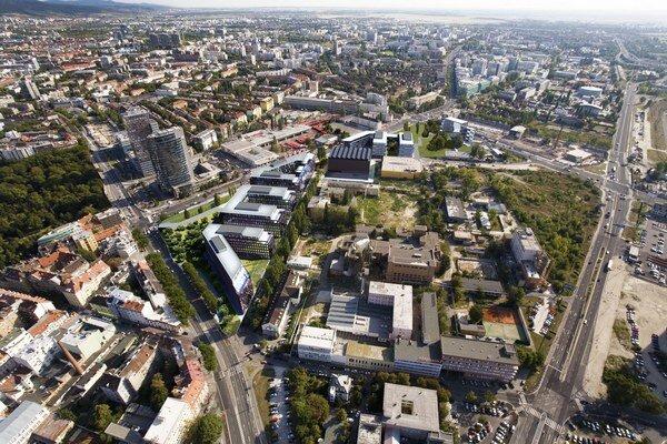Územné rozhodnutie pre projekt Twin City Juh nadobudloprávoplatnosť. HB Reavis Slovakia ide podať žiadosť o stavebné povolenie.