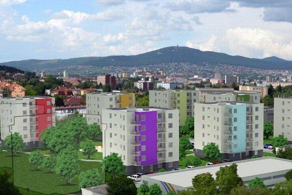 Výstavbu ďalšej časti projektu ovplyvní aj to, ako sa budú predávať už postavené byty.