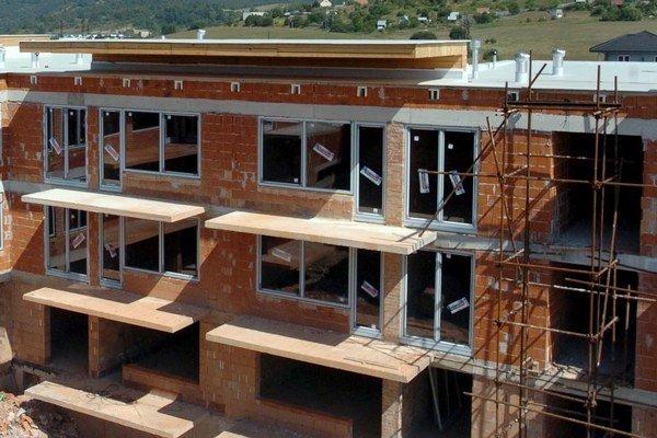Výstavba napreduje. Každý kvartál pribúdajú úplne nové alebo ďalšie etapy už existujúcich projektov.