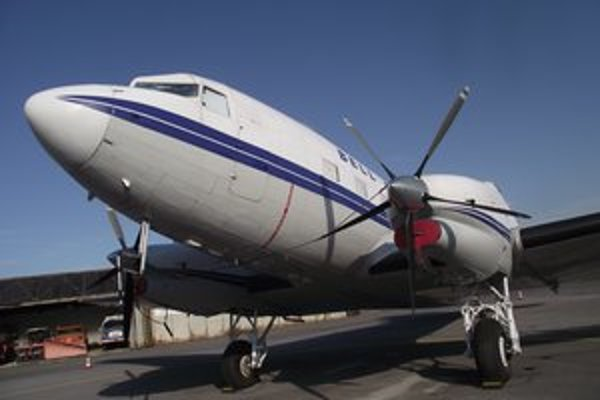 Nad severovýchodom lieta toto lietadlo.