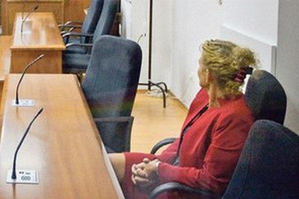 Sninská upozorňovala, že si neželá zverejniť jej zábery. Pred súdom stála za bezplatné zateplenie jej rodinného domu.
