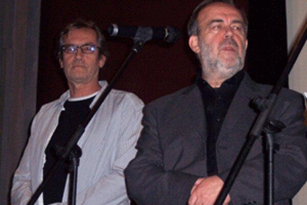 Film Rivers of Babylon uviedol na festivale aj jeho režisér Vlado Balco (vpravo).