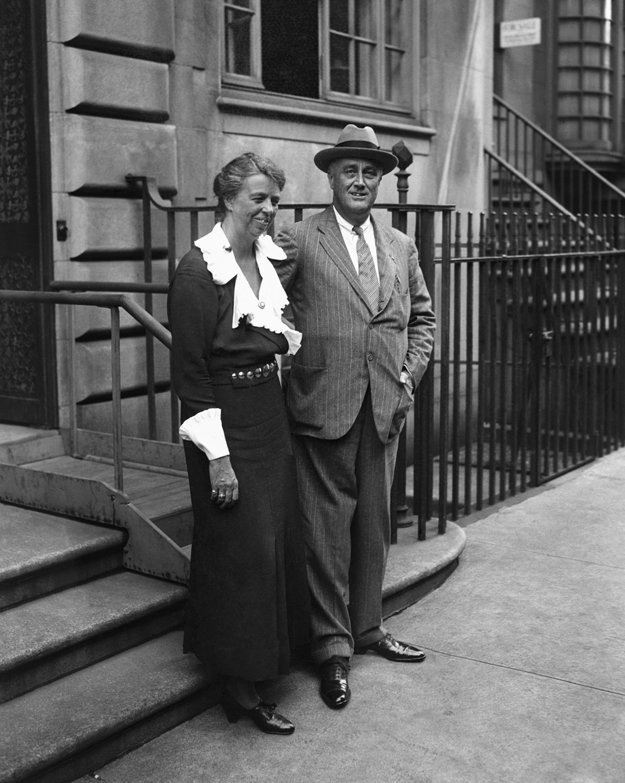 Eleanor Rooseveltová a Franklin Delano Roosevelt