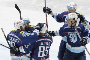 V šlágri boli úspešnejší hokejisti Nitry.