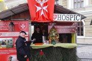Maltézsky punč sa bude v stánku na námestí podávať 9. - 11. decembra.