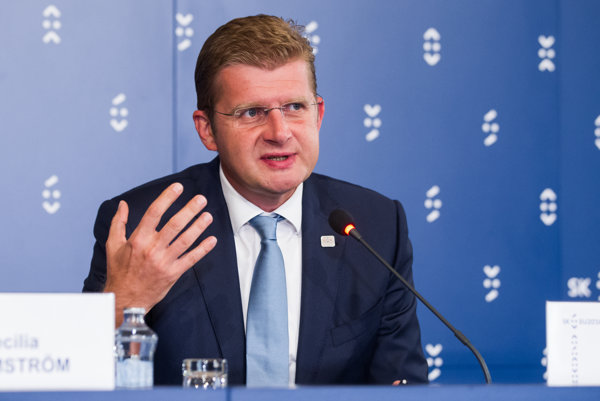 Minister hospodárstva Peter Žiga