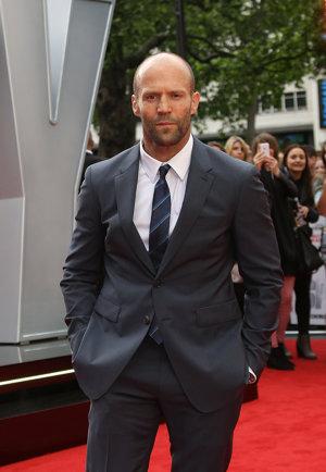 Britský herec Jason Statham (50)