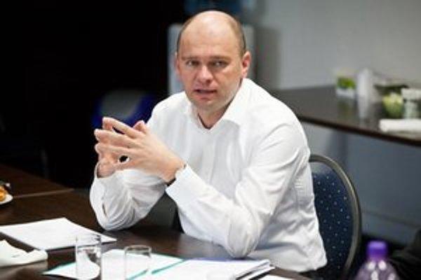 Šéf liberálov Richard Sulík.