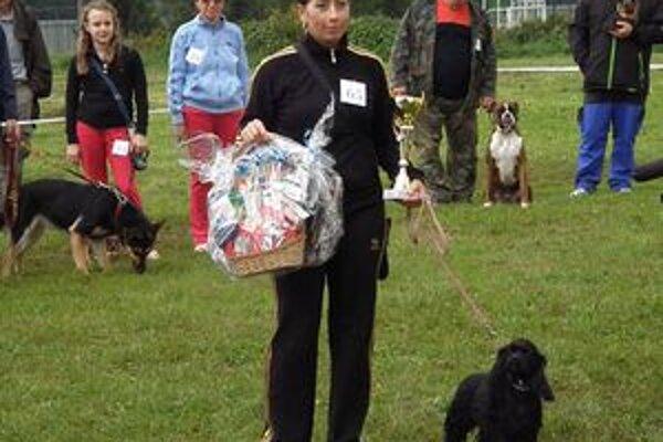 Na súťaži udelili aj titul pre najupravenejšieho psa výstavy.
