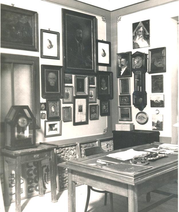 Jedna z prvých expozícií sa volala Nácseyho izba.