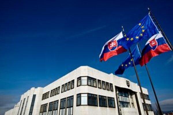 Budova Národnej rady.