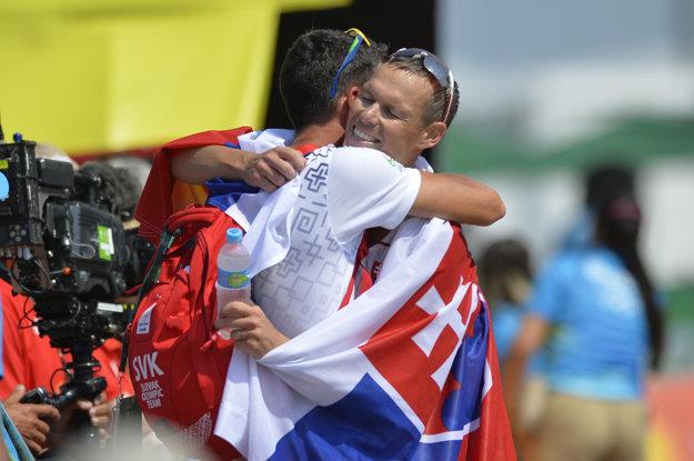Tréner Matej Spišiak priviedol Mateja Tótha k zisku zlatej medaily na olympijských hrách v Riu de Janeiro.