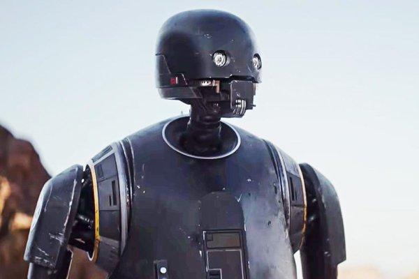 K-2SO vo filme Rogue One.