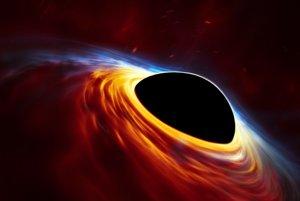 Supermasívna čierna diera s roztrhanou hviezdou.