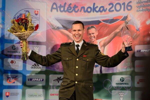 Matej Tóth sa stal štvrtý rok po sebe najlepším atlétom roka na Slovensku.