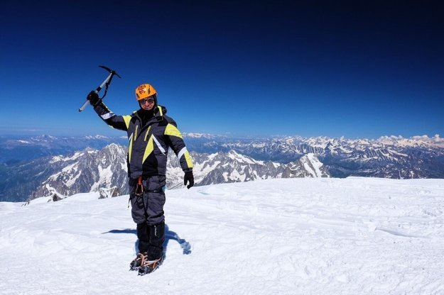 Na Mont Blancu.
