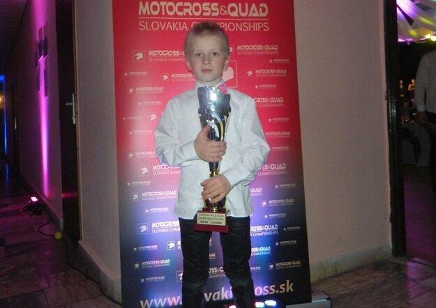 Mladý Oravčan získal prvú veľkú trofej.