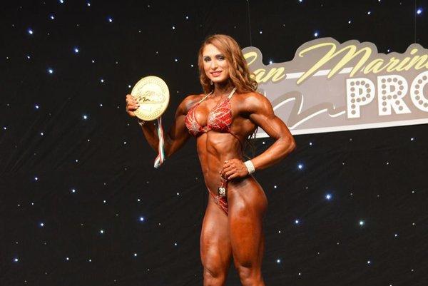Adela Ondrejovičová - V San Maríne sa tešila zprvenstva apo tretíkrát sa predstaví na Olympii vLas Vegas.