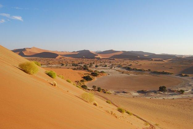 Namíbia je krajina púšte a piesočných dún.
