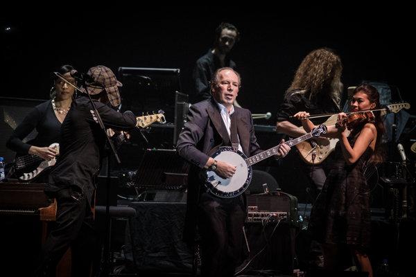 Hans Zimmer na koncerte v Bratislave. Spomína si naň veľmi dobre.