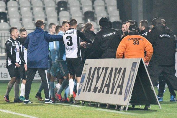 Prezident myjavského klubu nesúhlasí s rozhodnutím Disciplinárnej komisie SFZ, ktorá potrestala Spartak za potýčku v závere zápasu proti Slovanu.