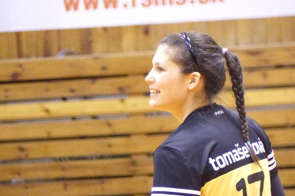 Zuzana Tomašeková, hráčka volejbalového extraligového mužstva Senický volejbalový klub.