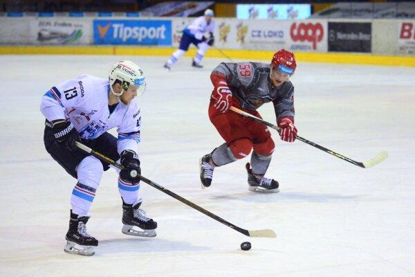Hráč Zvolena Ivan Jakubík bol hviezdou zápasu.