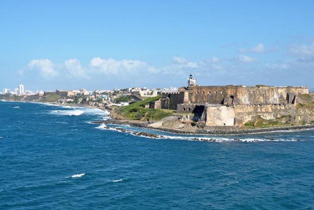 Uchváti vás aj pohľad na historickú časť mesta San Juan v Portoriku.