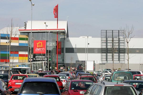 Avion Shopping na archívnej snímke z roku 2007.