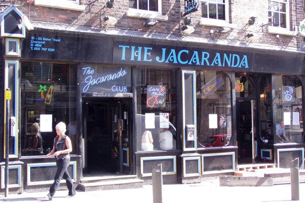 Klub Jacaranda, ktorý Allan Williams otvoril.