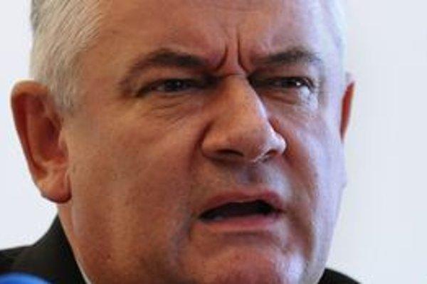 Predseda Slovenskej národnej strany Ján Slota