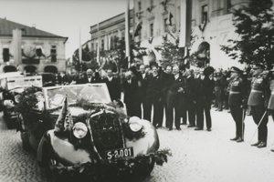 Významná bola návšteva E.Beneša.