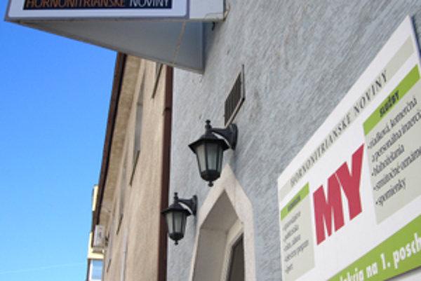 Budova MY Hornonitrianskych novín v Prievidzi.