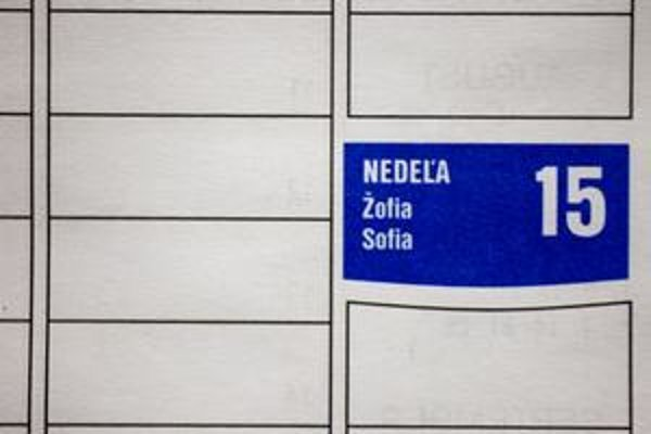 Nie Žofia, vedie Sofia.