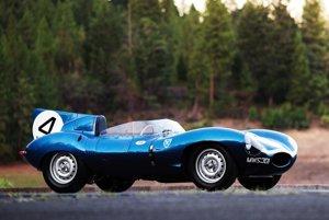 Jaguar D-Type z roku 1955.