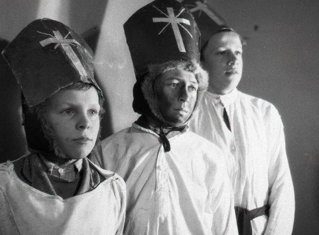 Traja králi 6. januára 1948.