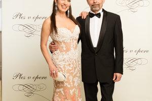 Katarína Hasprová s partnerom Ivanom Vojtekom
