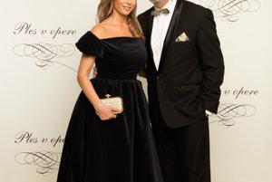 Zdeno Cíger s partnerkou Xéniou