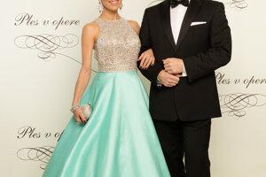 Lucia Hurajová s partnerom