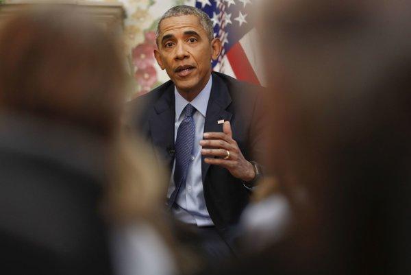 Odchádzajúci americký prezident Barack Obama.