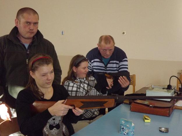 Mladí strelci v akcii