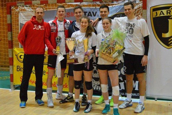 Družstvo Telepartia na turnaji neokúsilo trpkosť prehry.