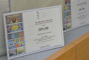 Diplomy pre najúspešnejších autorov celoslovenskej súťaže.